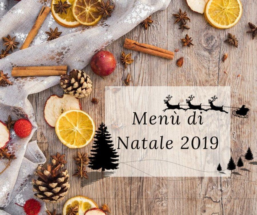 Menù delle feste 2019