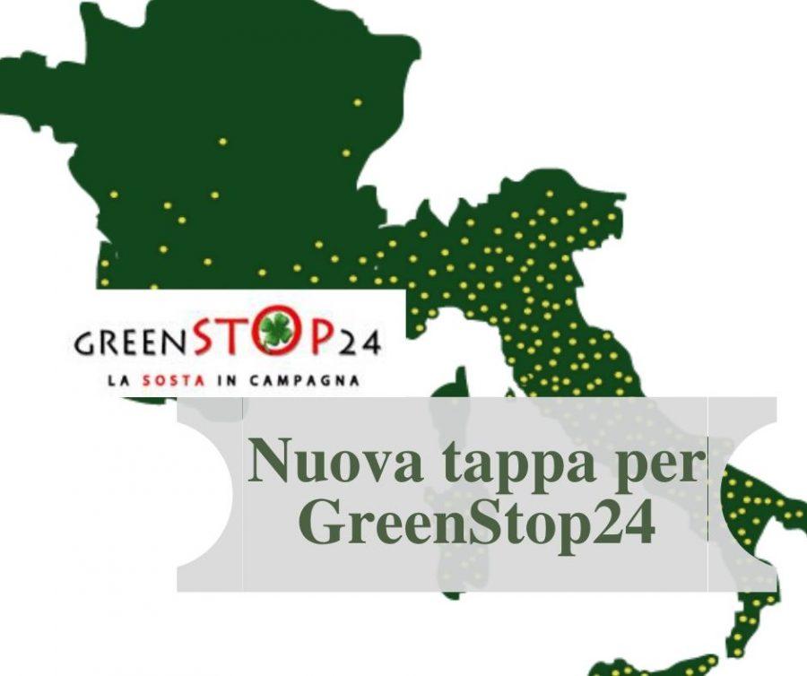 Nuova tappa per Greenstop24 all'Agriturismo Cà Sottane