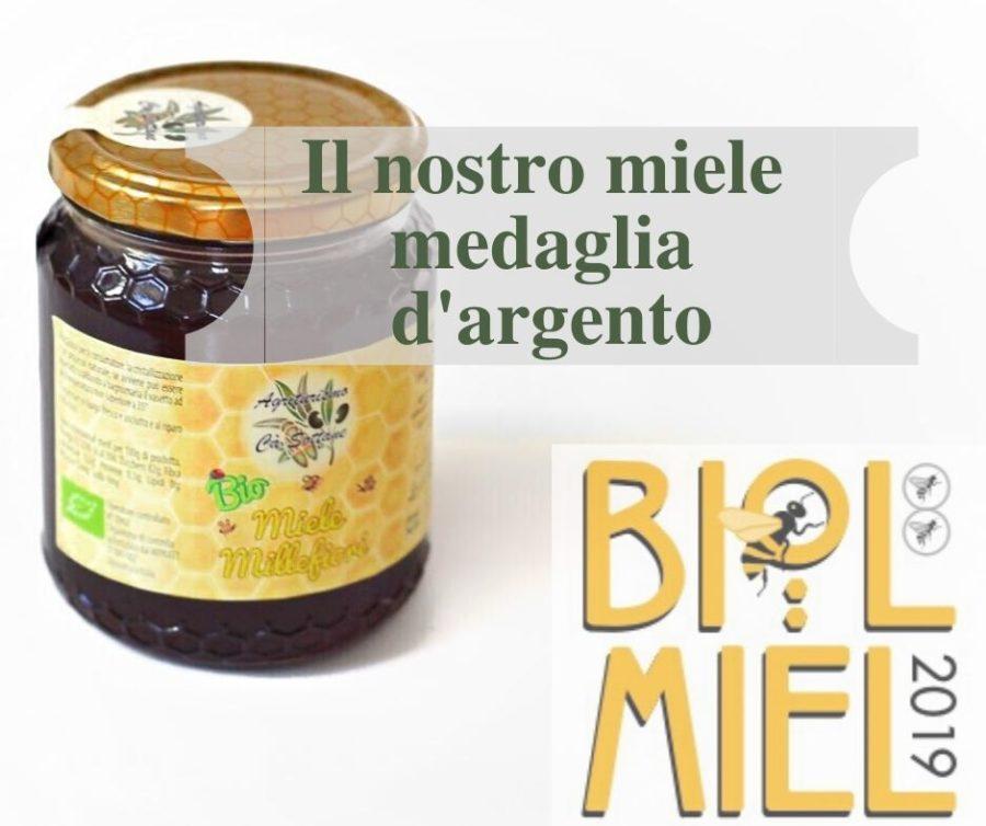 Medaglia d'argento BIOL MIEL 2019
